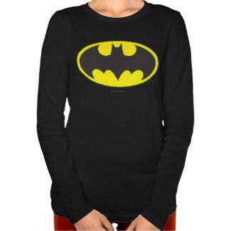 Batman Bat Logo Oval Tee