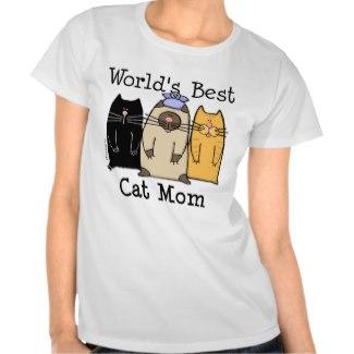 World's Best Cat Mom Tee